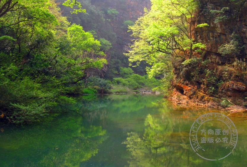 野花沟河水